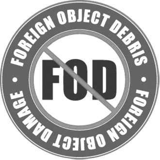 FOD (Foreign Object Debris) icon