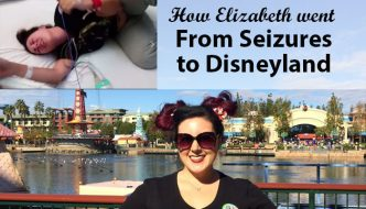 How Elizabeth with from seizures to Disneyland