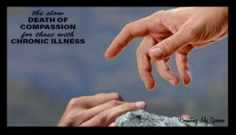 The slow death of compassion for chronic illness