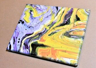Day 27 Acrylic Pouring Color Theory Series