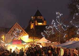 medieval Christmas market