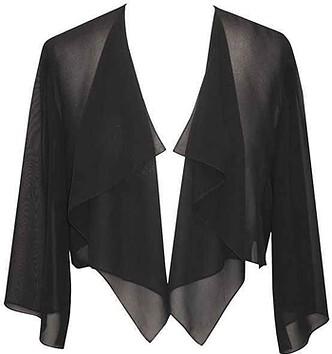 shrugs and boleros for evening dresses: Alex Evenings 'Hanky' bolero | 40plusstyle.com
