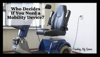 The person who decides if you are ready for a mobility scooter is you!