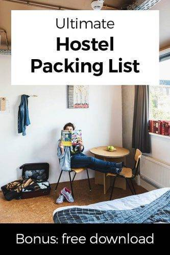 Hostel Packing List