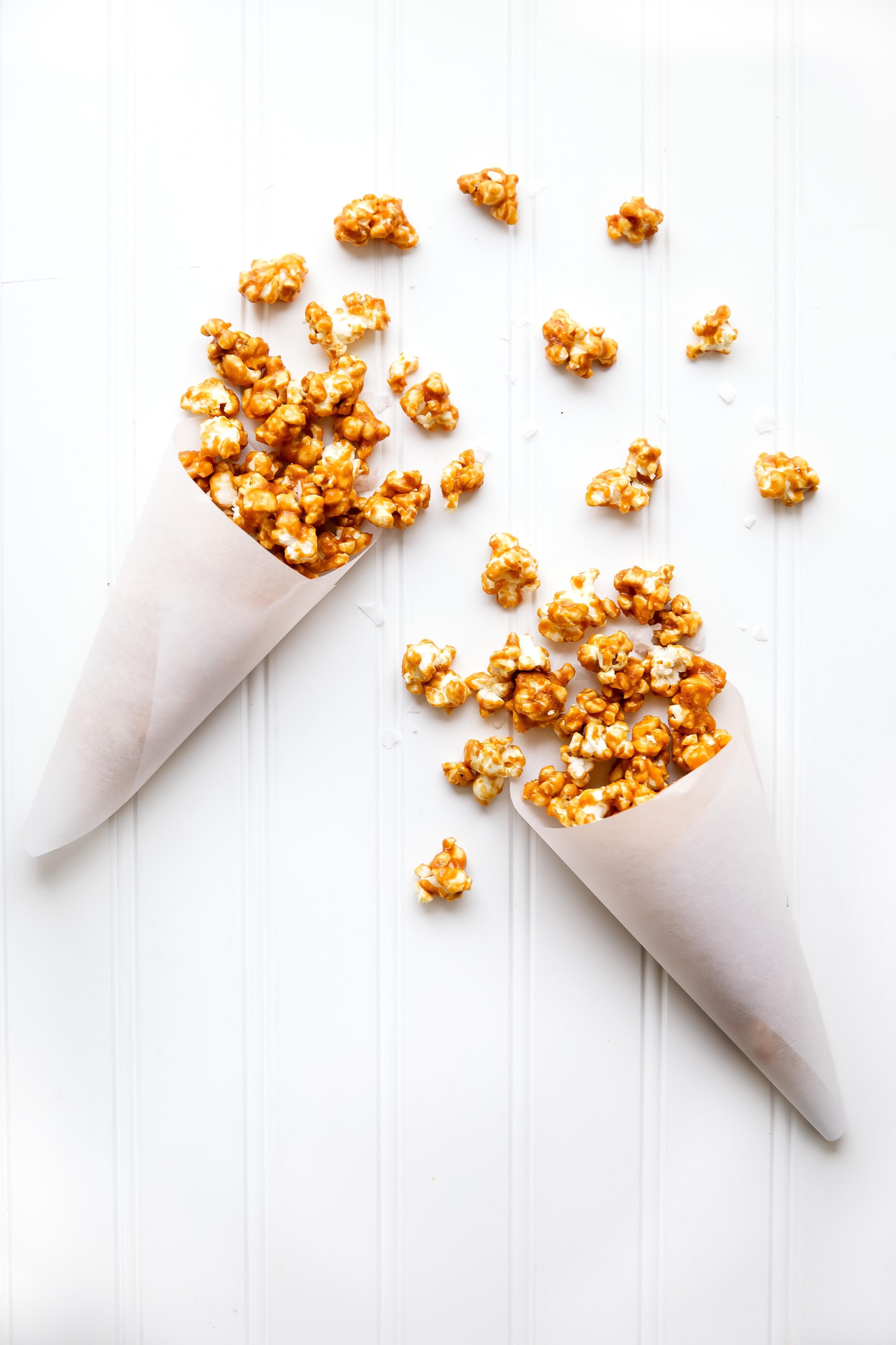 Salted Caramel Popcorn | Broma Bakery