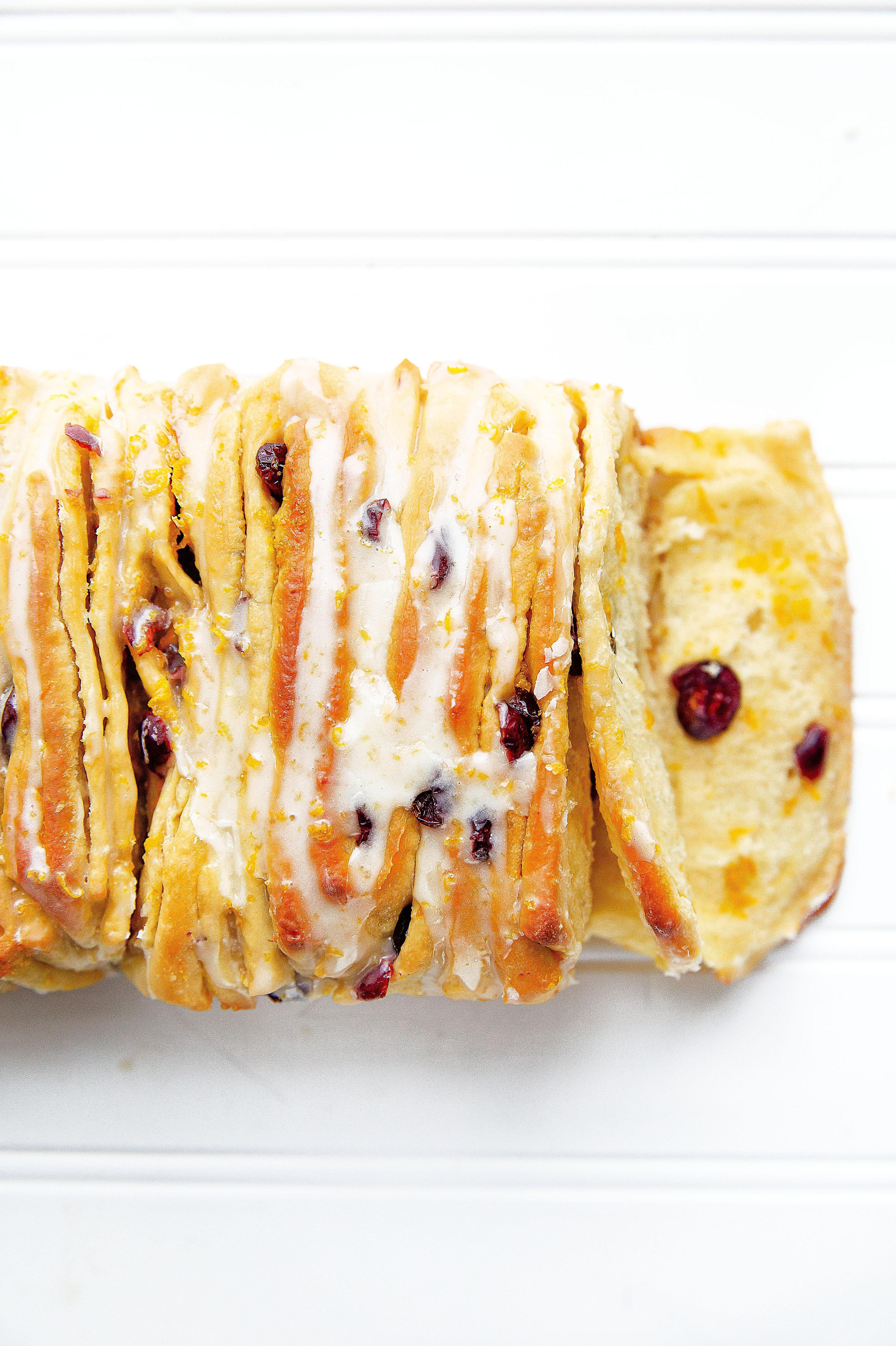 Cranberry Orange Pull Apart Bread   Broma Bakery