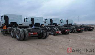 Supply of 4 Renault Kerax 6x4