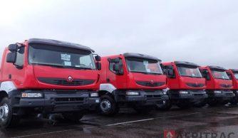 upply of 60 Renault Kerax 6x4