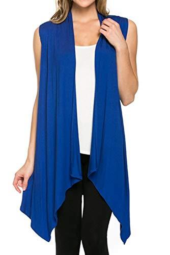 How to wear a long asymmetrical vest   40plusstyle.com