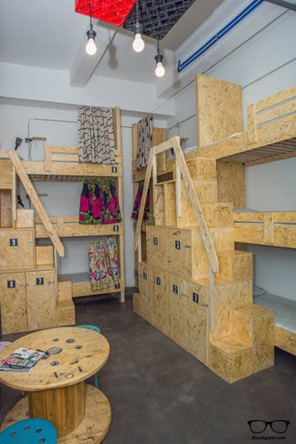Swanky Mint is creative! Those are tailor-made bunk beds!