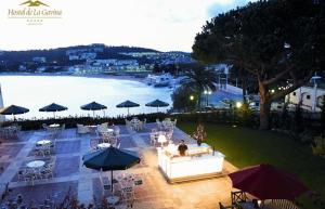 beach and spa luxury hotel north of barcelona