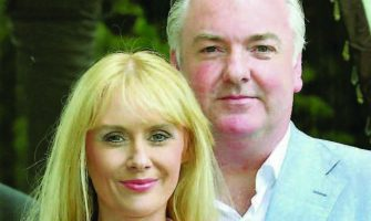 Aisling Holly and Paul Garrett