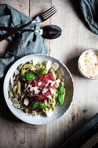 pasta sauce vegetarisch