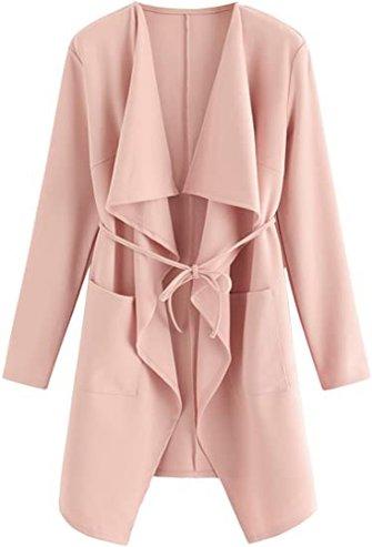 Romwe waterfall coat | 40plusstyle.com