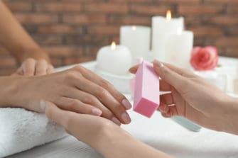 bloczki polerskie do manicure