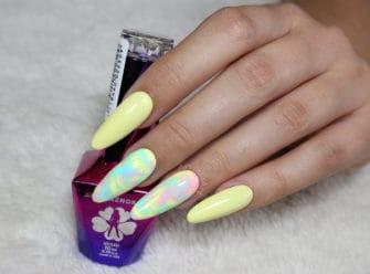 kolorowe paznokcie hybrydowe na wiosnę i lato