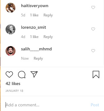 how to post blank comment instagram