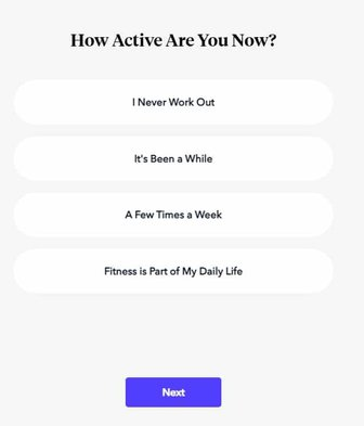 at home workouts find your trainer