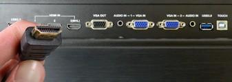connectiviteit van het touchscreen