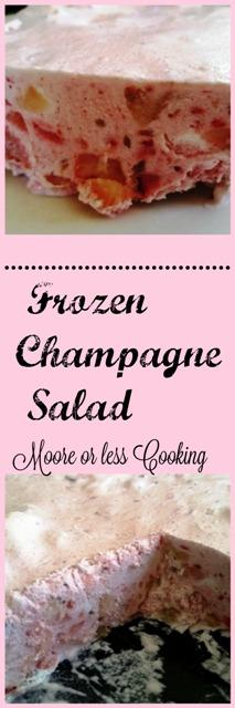 Frozen Champagne Salad