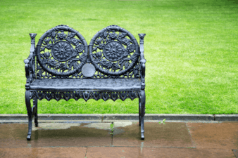How to Paint Wrought Iron to Look Antique