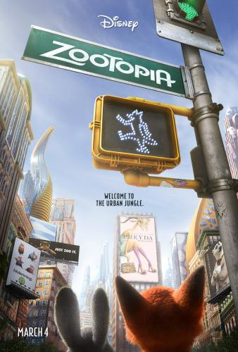 Disney's Zootopia opens in theaters on March 4, 2016.