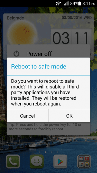 How To Boot Android Into Safe Mode 4
