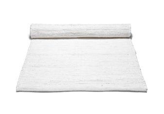 biały dywan bawełniany z recyklingu - Cotton White 0033