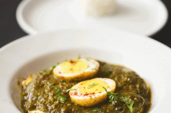 Recipe for best Indian green egg curry