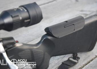 ACCU Long Range Cheek Rest Riser with easy bolt removal feature 12