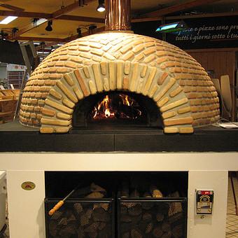Forno a legna per pizza professionale
