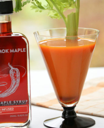 Maple Carrot Bloody Mary by Runamok Maple