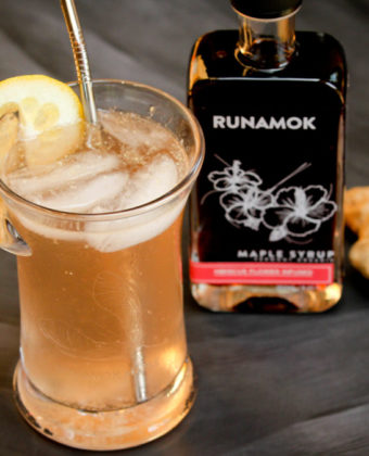 Maple mocktail by Runamok Maple