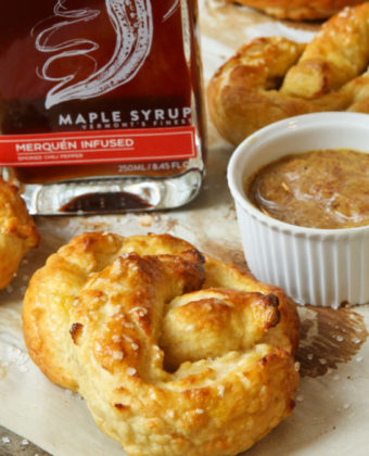 Maple pretzels by by Runamok Maple