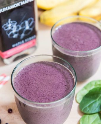 Maple Blueberry Smoothie by Runamok Maple