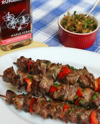 Grilling with maple syrup by Runamok Maple