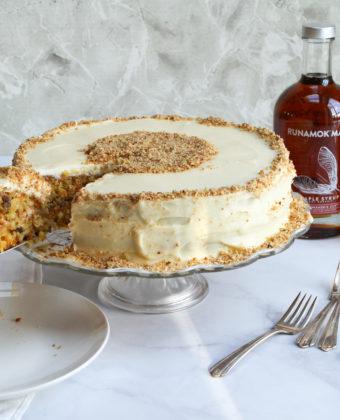 Maple Carrot Cake by Runamok Maple