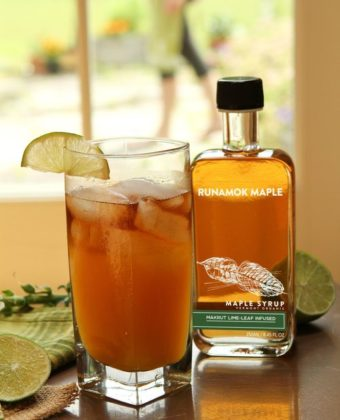 Maple syrup mai tai by Runamok Maple