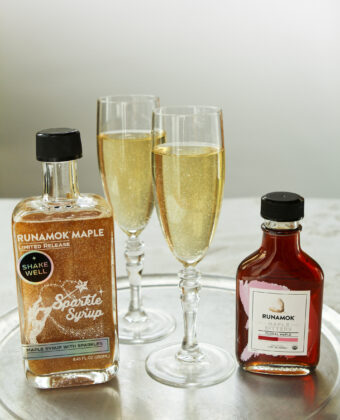 Sparkle Syrup and Champagne
