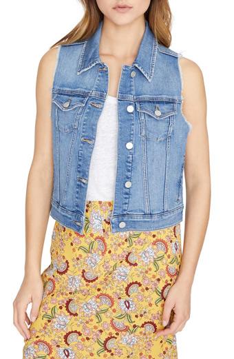 denim vest for women over 40   40plusstyle.com