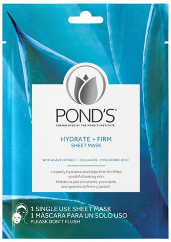 Pond's Hydrate + Firm Sheet Face Mask (2 pack) | 40plusstyle.com