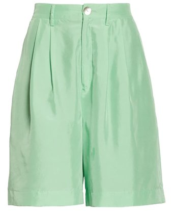 Pleated Shorts | 40plusstyle.com