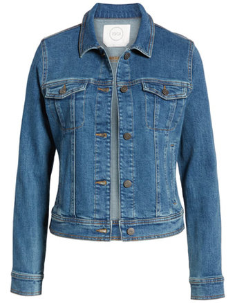 Summer essentials - 1901denim jacket | 40plusstyle.com