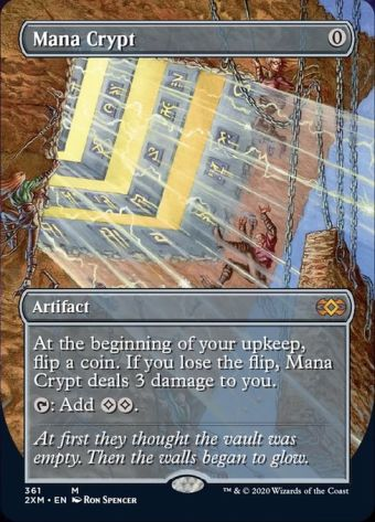 Double Masters Spoilers Mana Crypt Box Topper