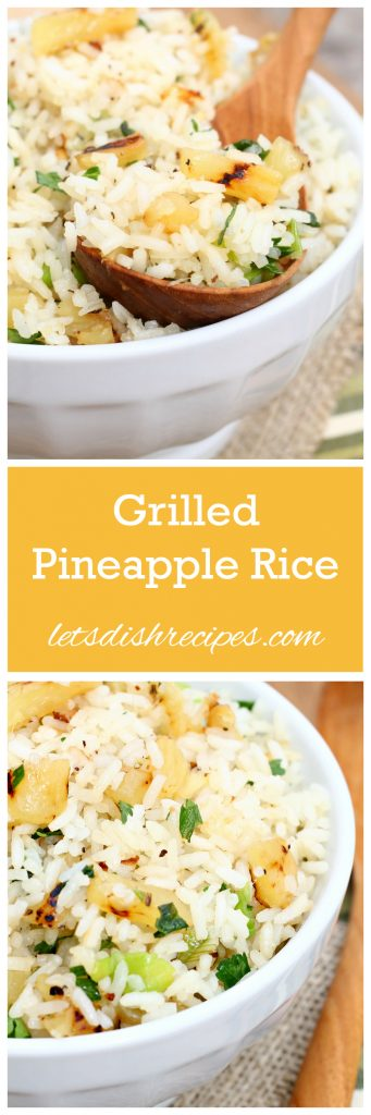 Grilled Pineapple Rice Pin
