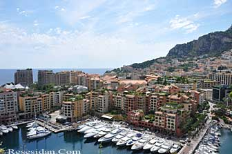 view from monaco ville
