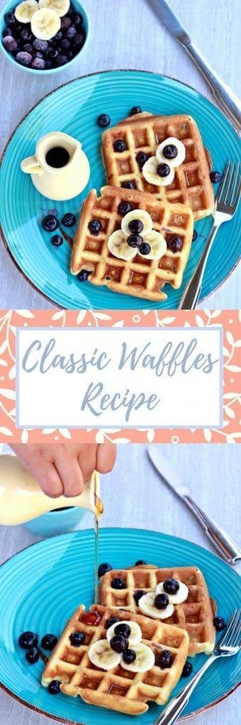 Waffles | Classic Waffles Recipe