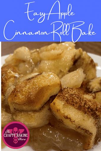 Easy Apple Cinnamon Roll Bake