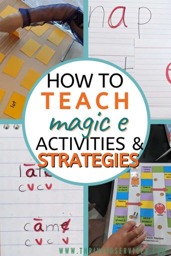 how to teach magic 3 activities and strategies pin image with examples