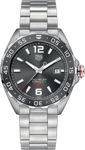 Мужские швейцарские механические наручные часы TAG Heuer WAZ2011.BA0842
